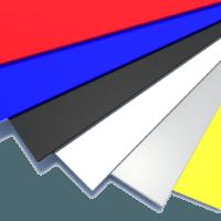 Гладкий лист оцинкованный с полимерным покрытием в наличии и под заказ!
