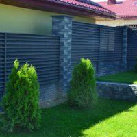 Забор жалюзи с металлическими ламелями «Фьюжен». НОВИНКА!!!!