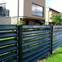 Забор жалюзи с металлическими ламелями «Инсайт» НОВИНКА!!!